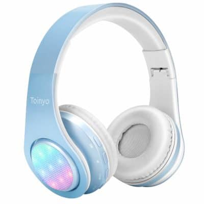 Cool Valentine's Day gift ideas for teens: wireless bluetooth headphones by Toinyo