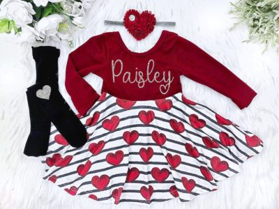valentine clothes & shirts for toddlers