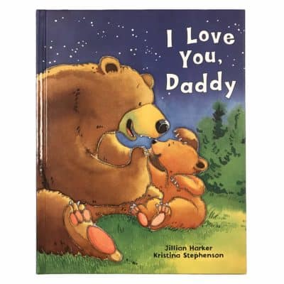 great Valentines gift for kids: I Love You Daddy book