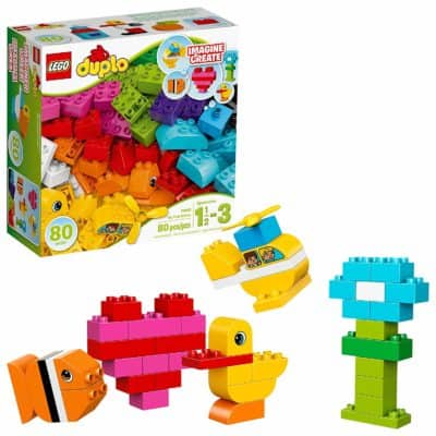 Valentine's gift idea for babies: LEGO DUPLO my first bricks building set