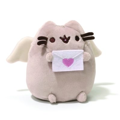 cute gift ideas for babies on Valentine's day: Pusheen cupid plush