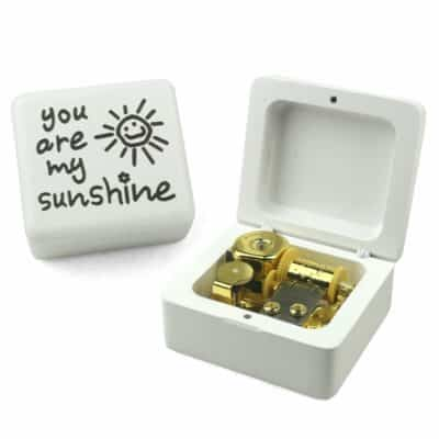 You are my sunshine music box - thoughtful gift for children