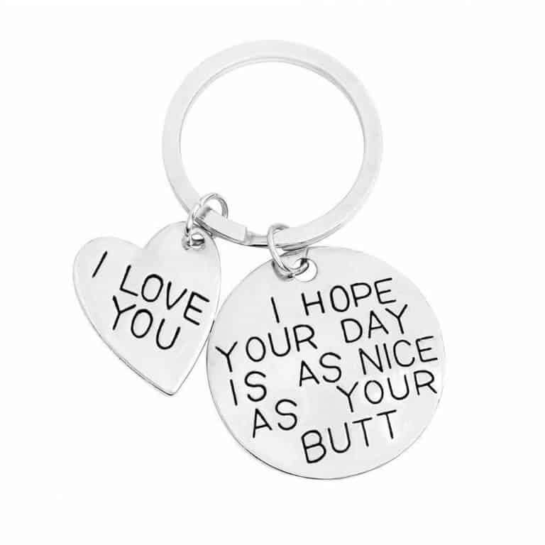 valentine day surprises for her - keychain