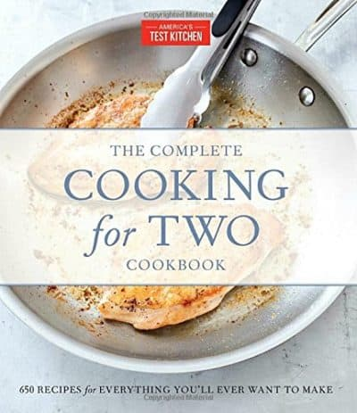 valentines day gift for wife: cooking for two cookbook