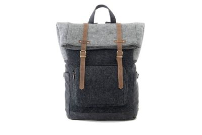 wool gift for him on 7th anniversary: wool backpack