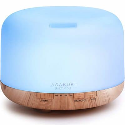 first mothers day gifts: essential oil diffuser