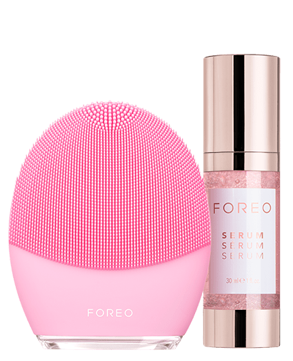 gifts for first mothers day: foreo facial cleanser & serum