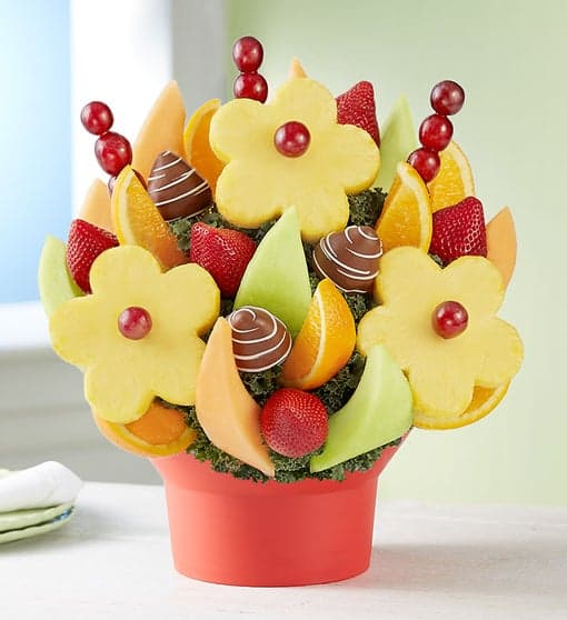 mothers day gift idea: fruit bouquet