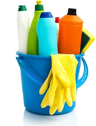 idea for first mothers day: cleaning service