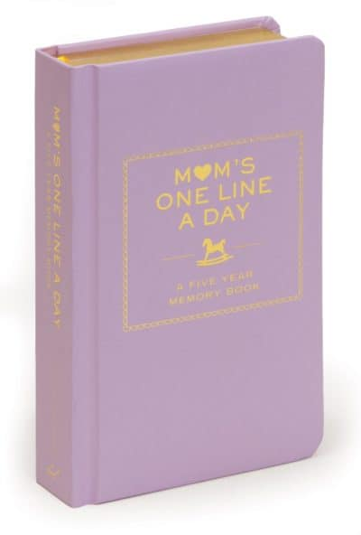 first mother's day gifts: mom's one line a day book diary