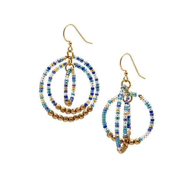 bead earrings - mothers day ideas for adults