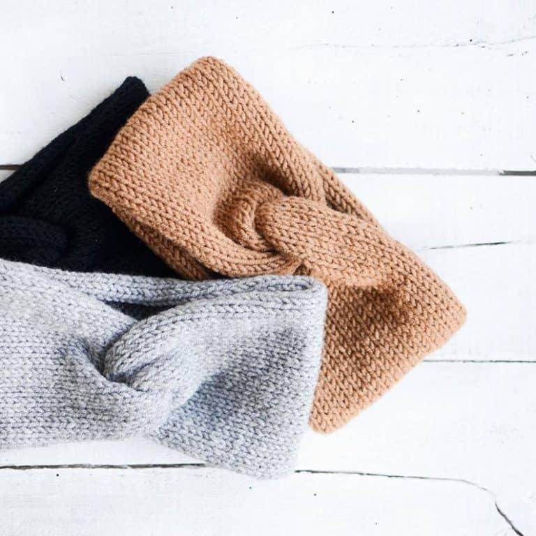 hand knit turban