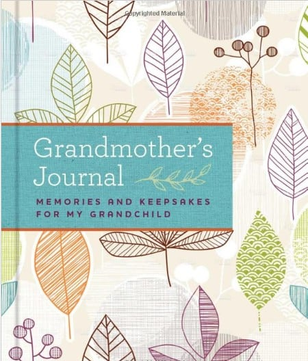 mother's day gifts for grandma - grandma journal