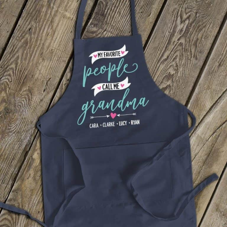 unique gifts for grandma - apron