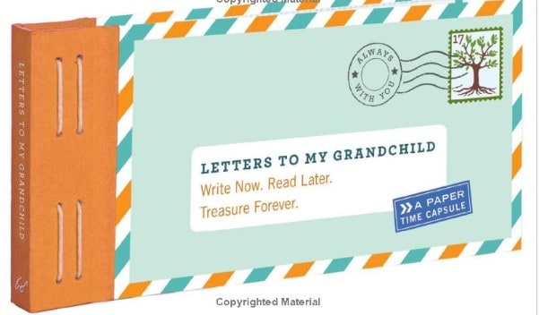 presents for great grandma - letter to my grandchild