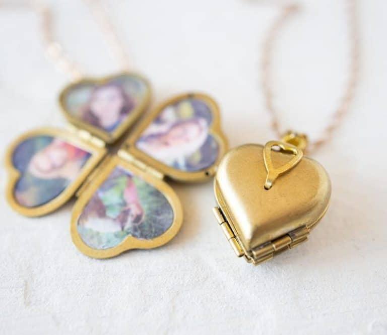 grandma keepsake - locket necklace
