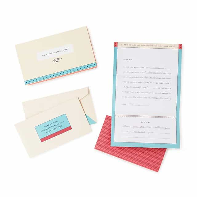 letters to my mom - meaningful gifts