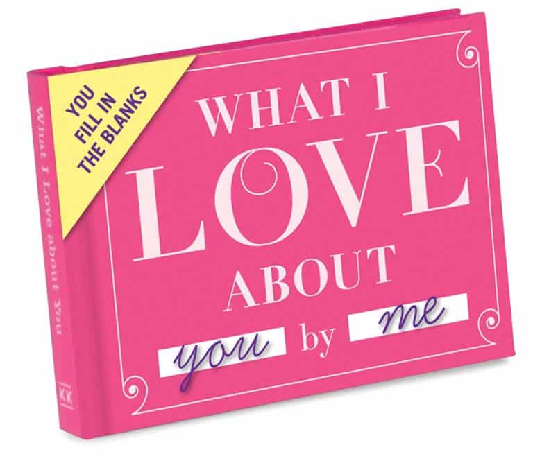 mothers day gifts for mom - love book