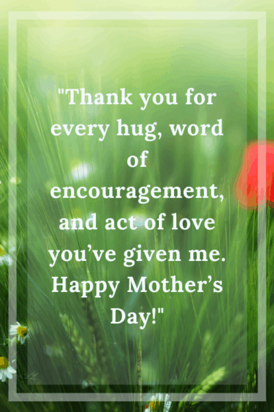 mother's day messages for mothers