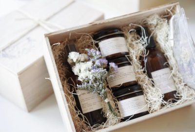 thoughtful first mothers day gifts: gift set for new mom and baby