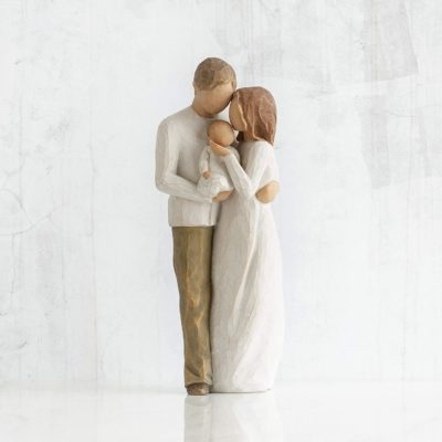 gift for new parents: willow tree our gift figurine