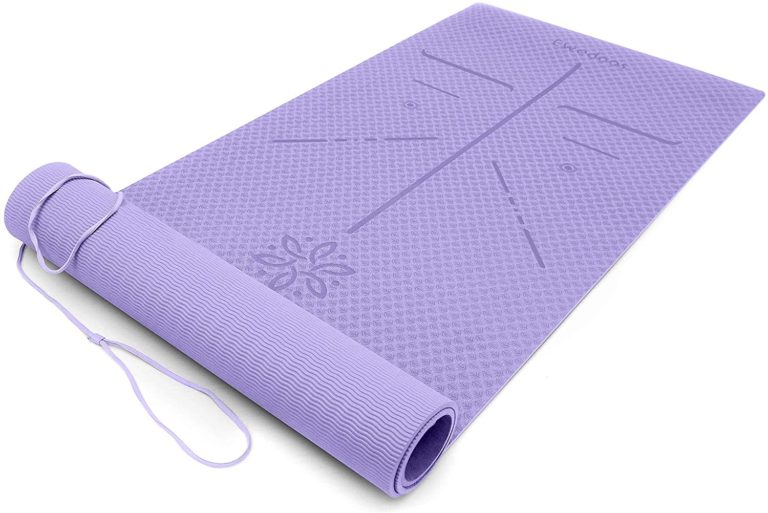 gift for mom: eco friendly yoga mat