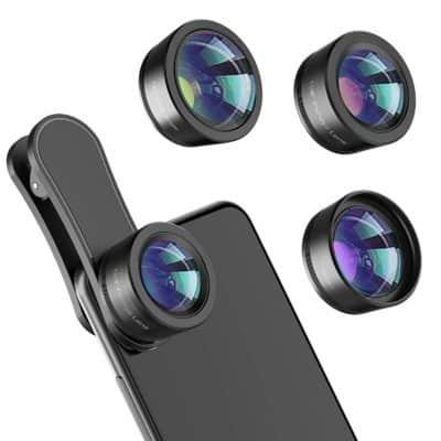 3 in 1 Phone Lens kit for photographer moms