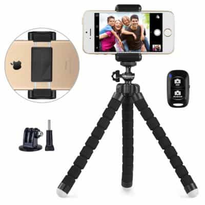 Tech gifts for moms - Phone tripod