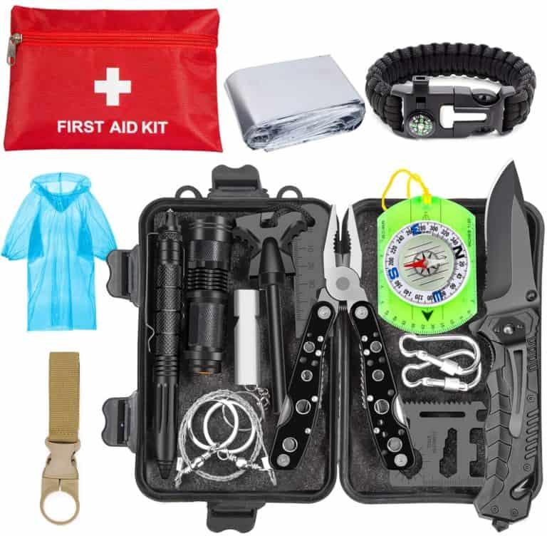 fishing gift for him: emergency survival kit