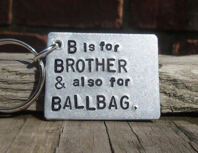 keychain gag gifts for brother