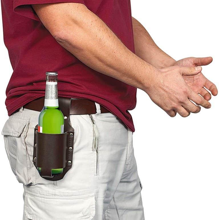 beer holster - beer gag gifts