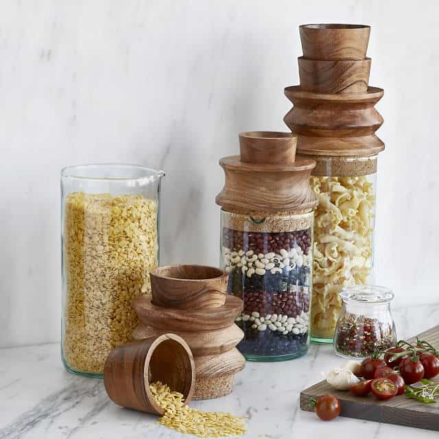 gifts for bakers: Measure and Store Canisters