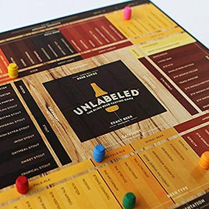 brewer game - the blind beer tasting board game