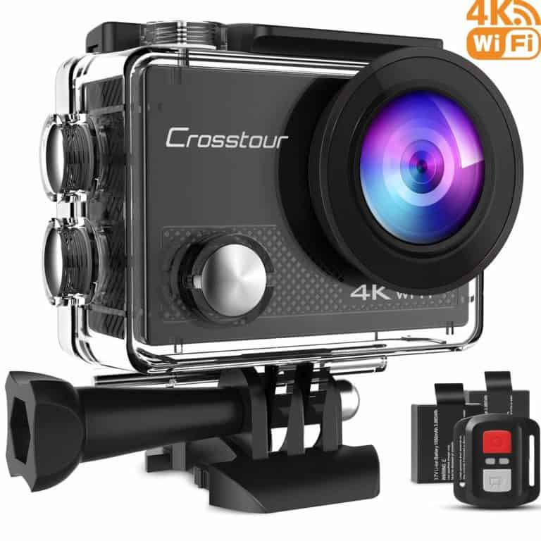 4k action camera: best gift for a fisherman