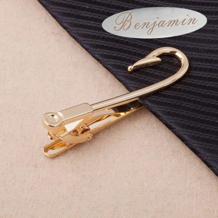 best fishing accessories: fish hook tie clip