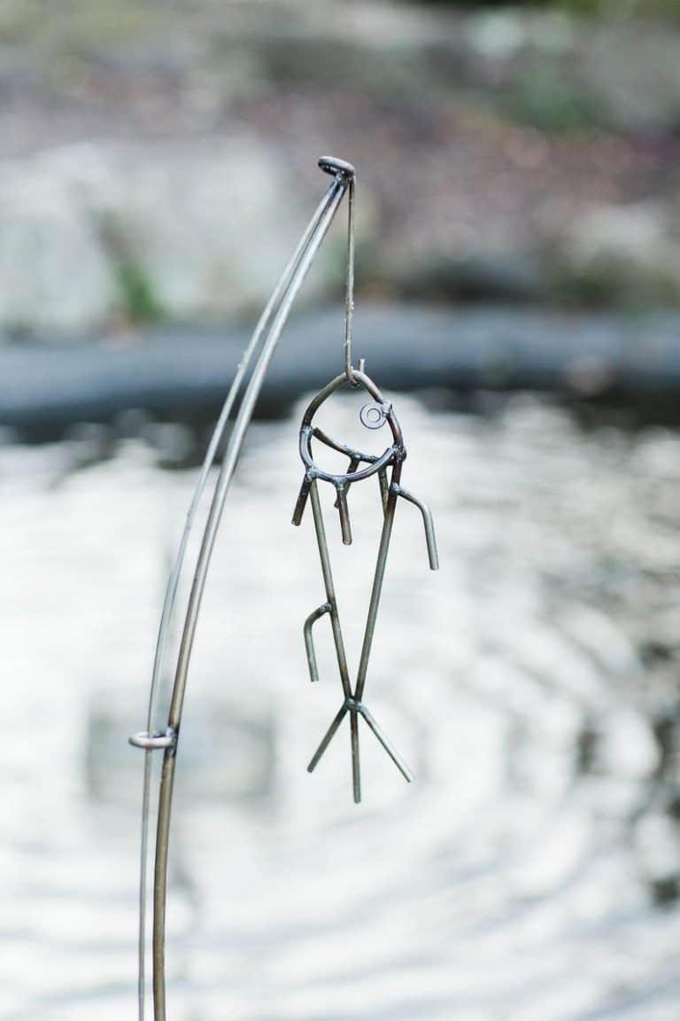 fishing pond decor