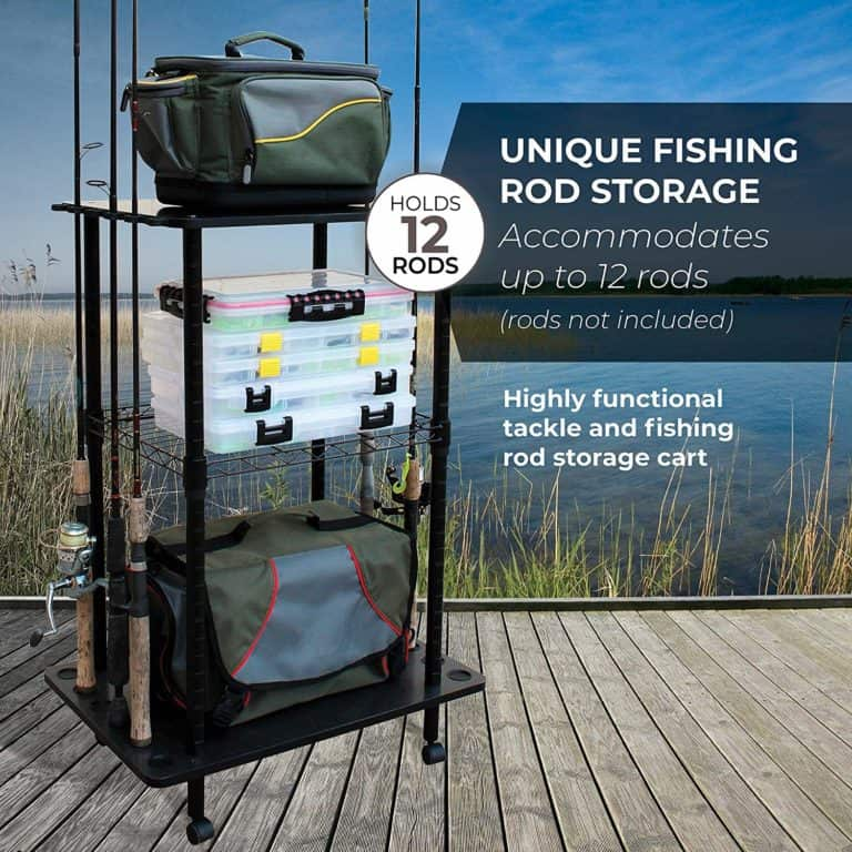 fishing storage & cart