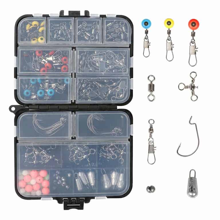 gifts for fishermen: fishing tackle box