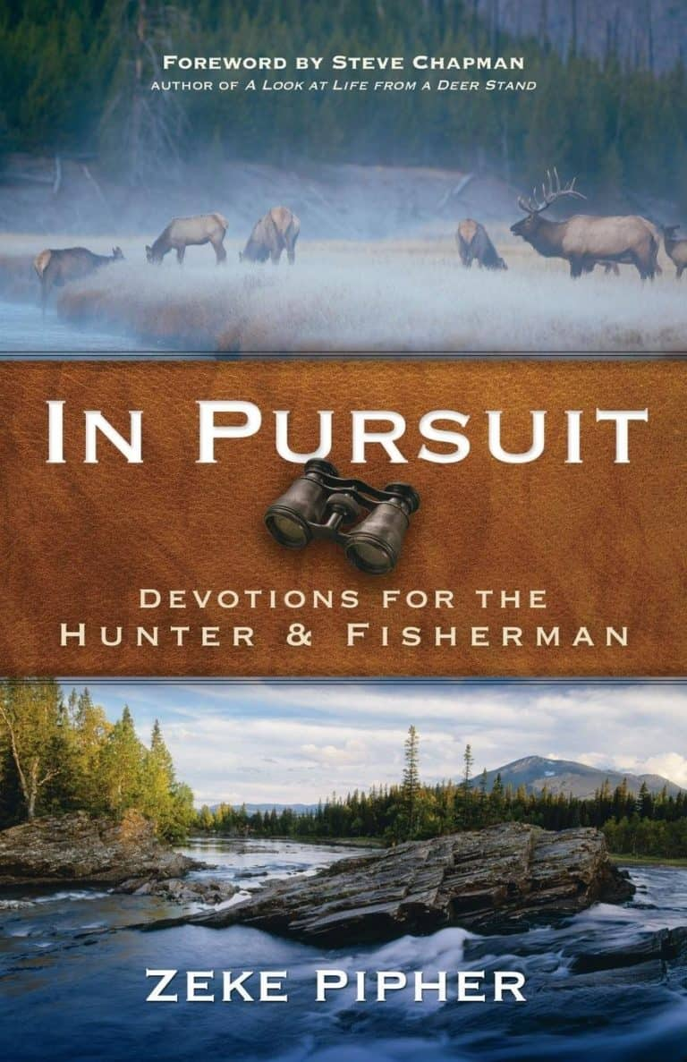 fishing book: in pursuit