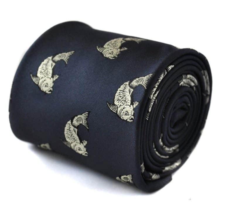 fisherman gifts - koi carp tie