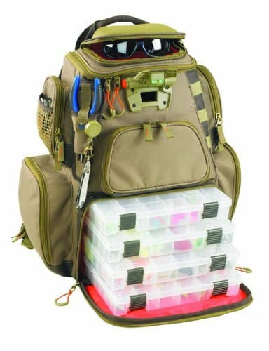 lighted tackle backpack - gift for the fisherman