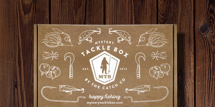 best gift idea for a fisherman: mystery tackle box