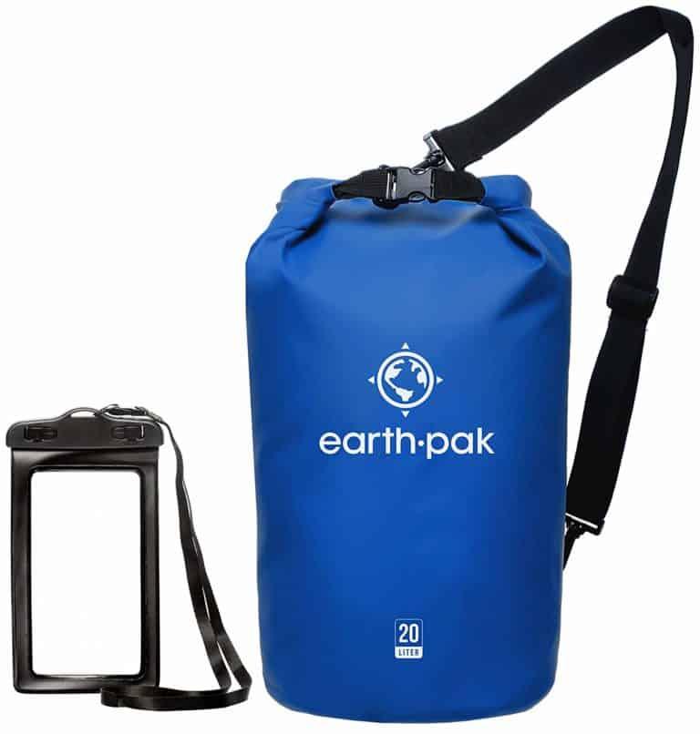 a waterproof dry bag