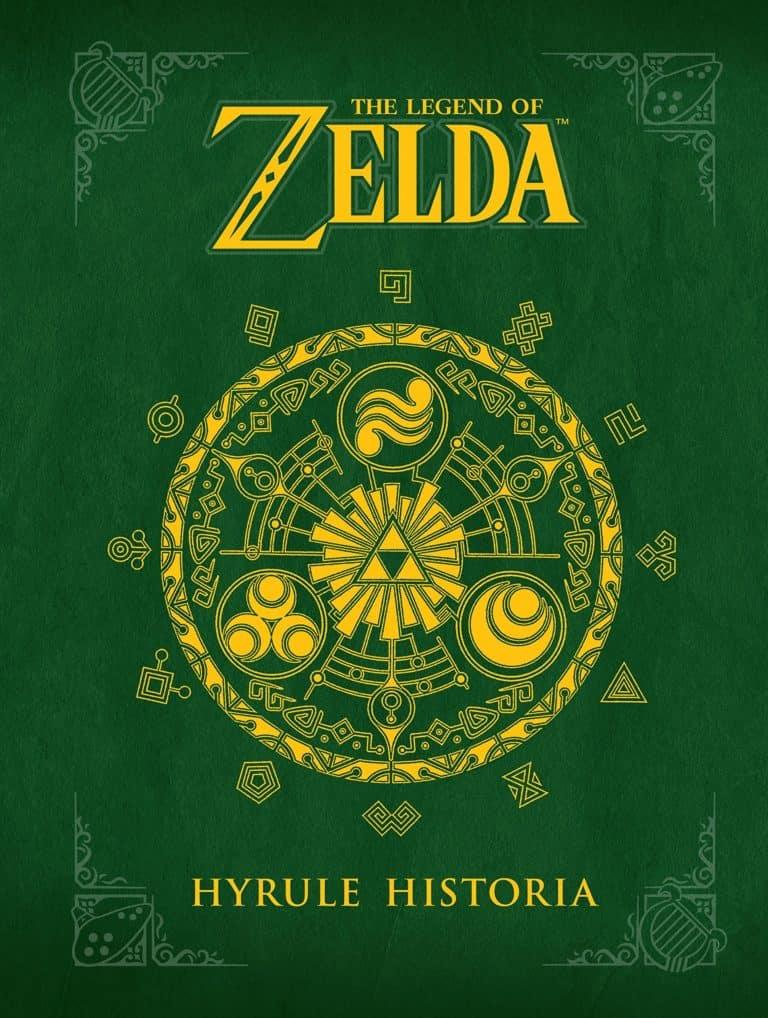 The Legend of Zelda artbook: gift idea for gamers