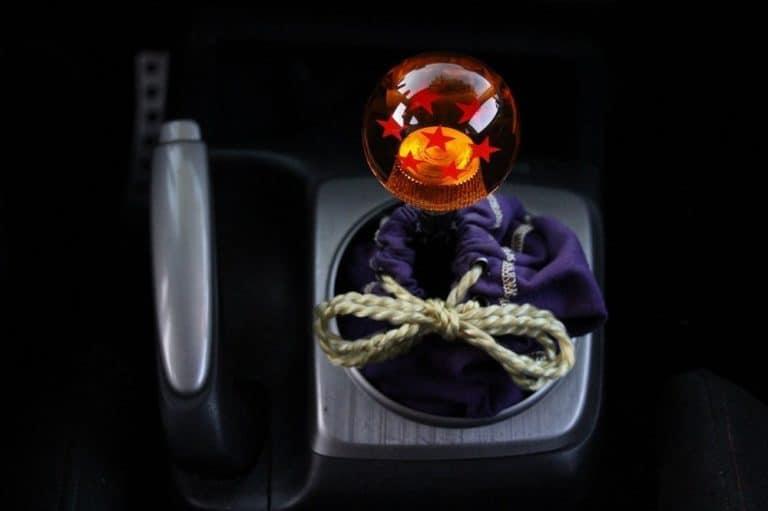 gift for nerds: dragon ball z stick shift knob