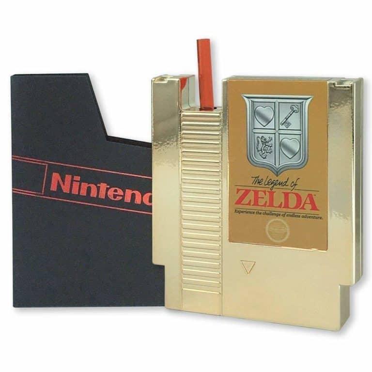 nintendo legend of zelda collectibles: nes canteen cartridge flask