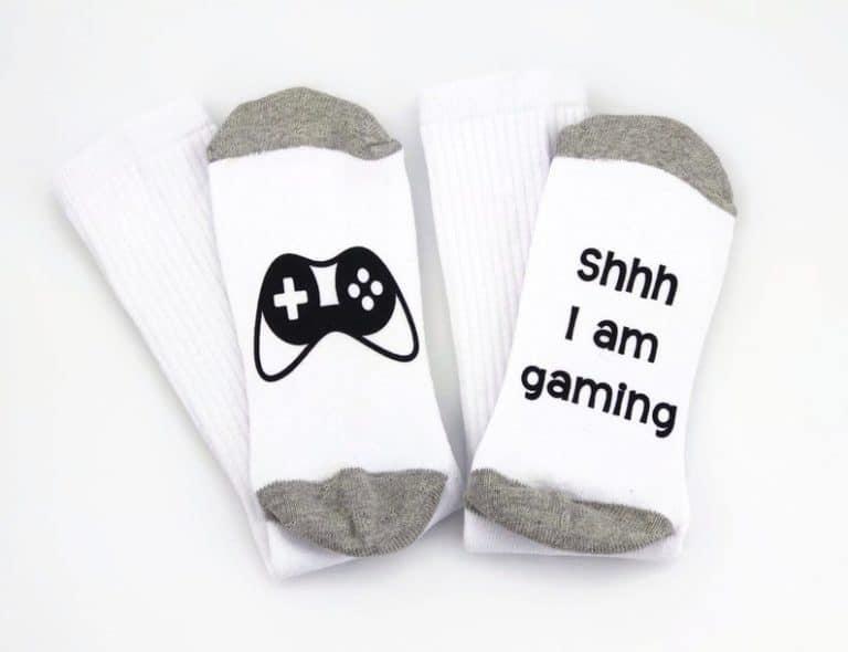 gifts for gamers: funny gamer socks