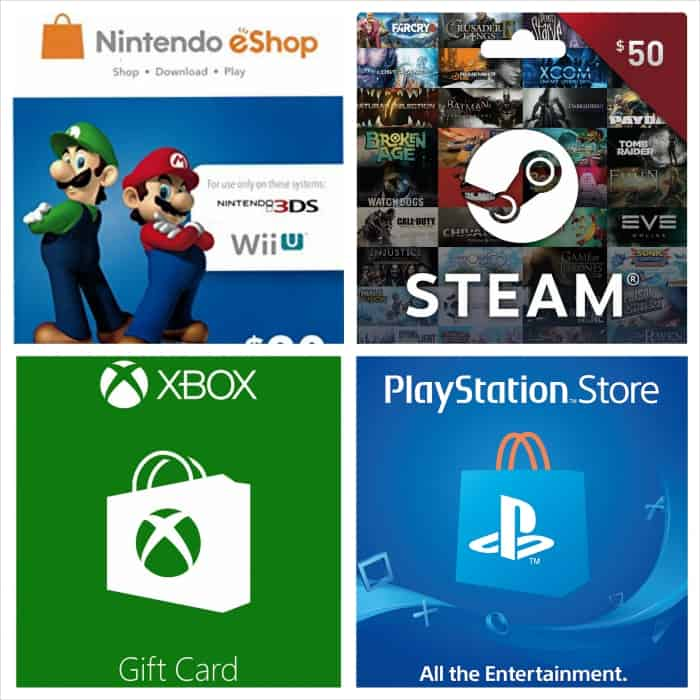 gaming stores currency cards