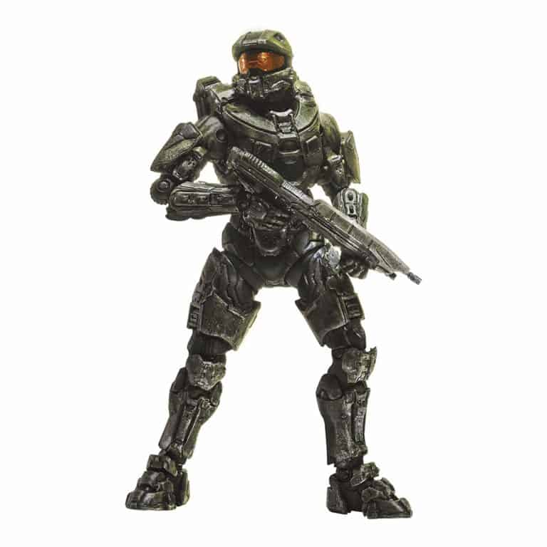 halo master chief action figure: gift for halo fans