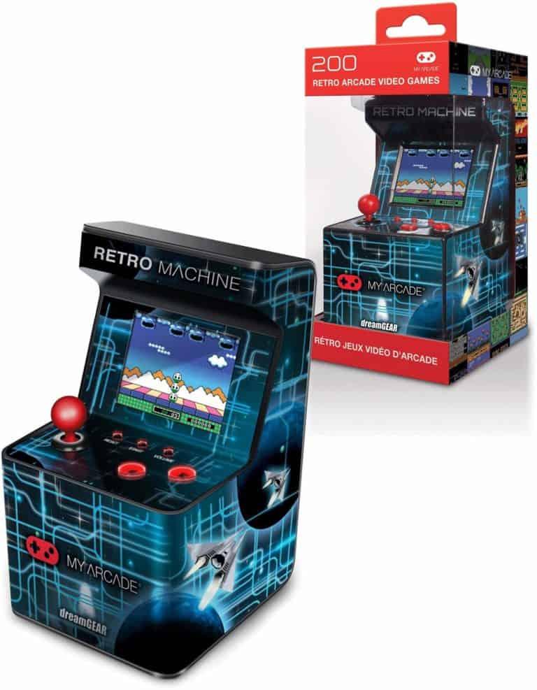 gamer gifts: playable mini arcade machine